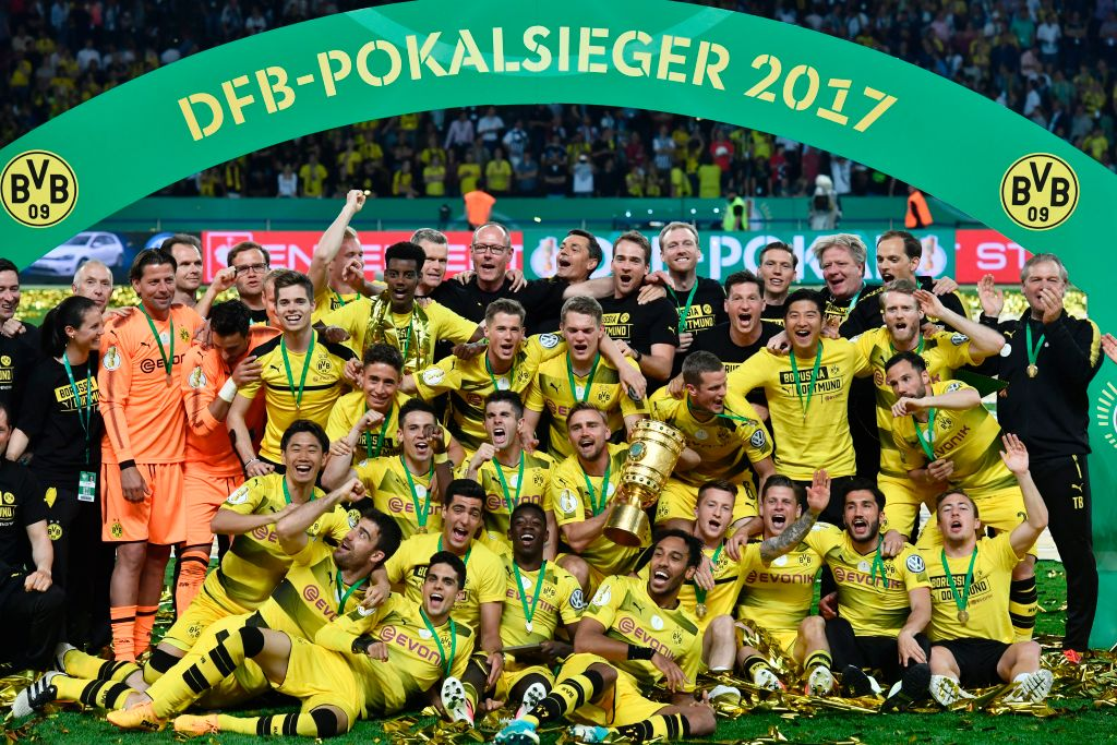Frankfurt 1-2 Borussia Dortmund (CK Cup Quốc gia Đức 2016/17)