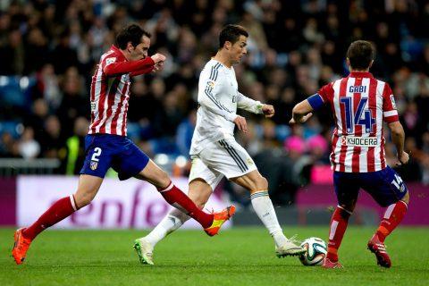 """Real coi chừng: Barca hiến kế cho Atletico cách ngăn chặn """"cơn ác mộng"""" Ronaldo"""