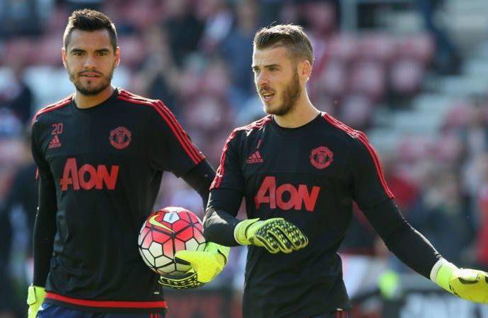 Romero quyết tâm thế chỗ De Gea tại Man Utd