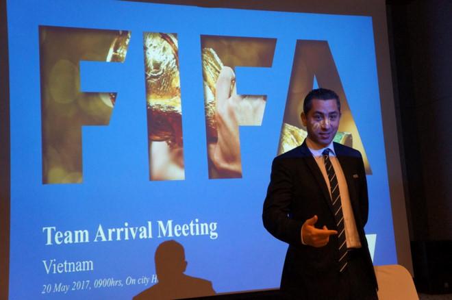 FIFA khuyến cáo hành vi bạo lực với U20 Việt Nam