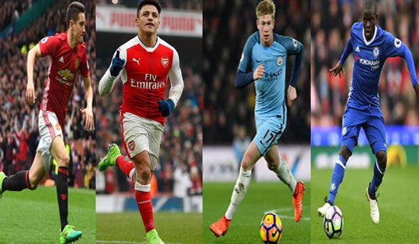 Top 6 Ngoại hạng Anh và những nhân tố xuất sắc nhất mùa 2016/17