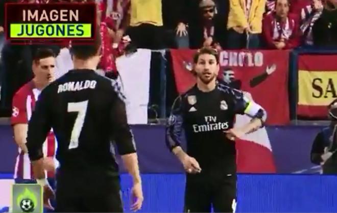 Ramos gợi ý cho Ronaldo ăn vạ câu thẻ đỏ