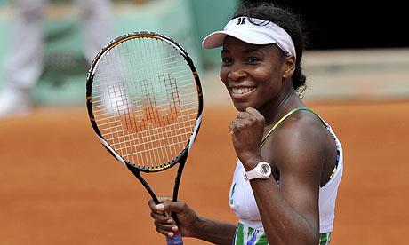Venus Williams vào tứ kết Italy Mở rộng