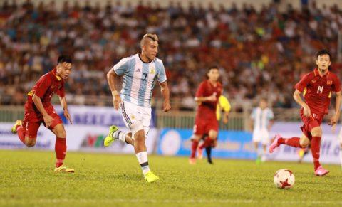 Đức Chinh ghi bàn, U20 Việt Nam thua đậm 1-4 trước U20 Argentina