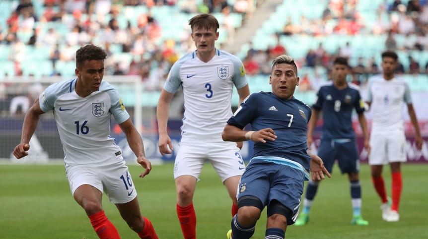 Sao trẻ Chelsea tỏa sáng, U20 Anh vùi dập U20 Argentina không thương tiếc