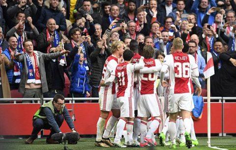 Hủy diệt Lyon, Ajax đặt 1 chân vào chung kết Europa League