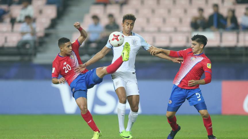 Hạ đẹp U20 Costa Rica, U20 Anh đoạt vé vào tứ kết