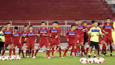 U20 Việt Nam mài bén những mũi công phá