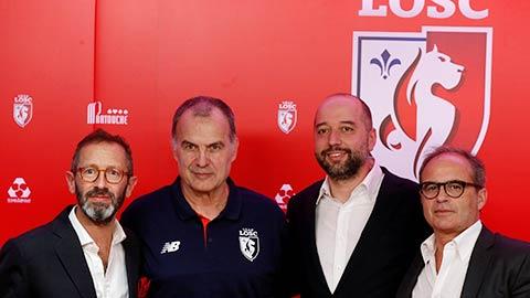 Marcelo Bielsa chính thức ra mắt Lille