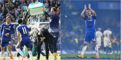 CHÙM ẢNH Chelsea ăn mừng ngôi vô địch hoành tráng cùng CĐV nhà, Terry nghẹn ngào nói lời chia tay The Blues