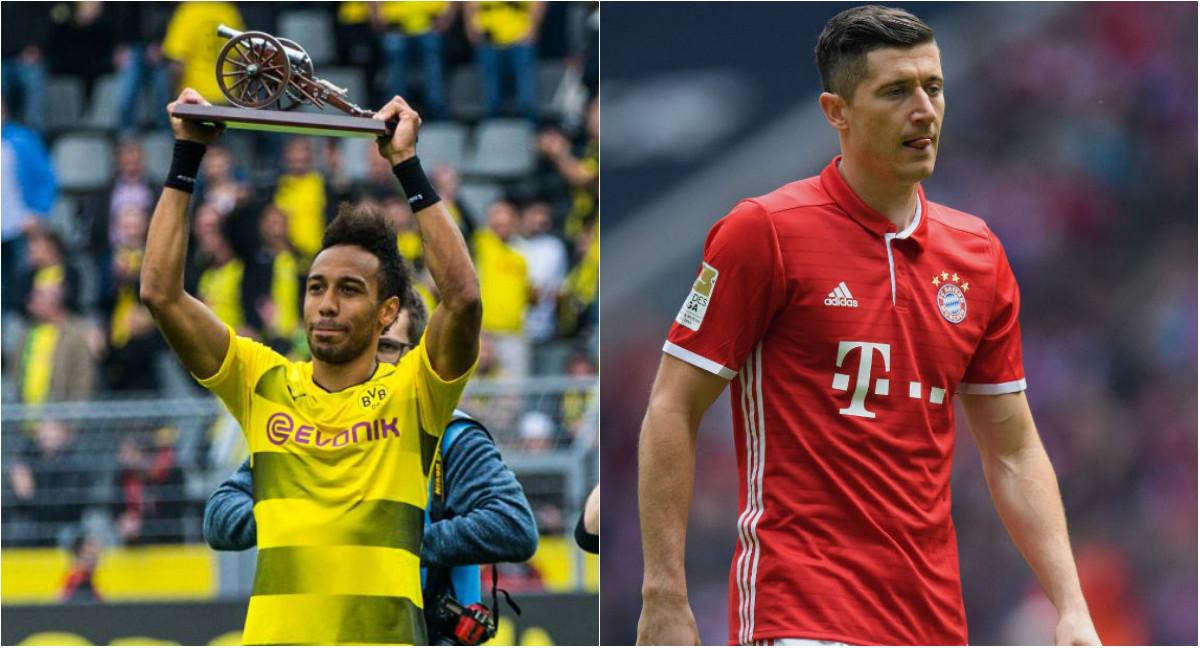 Vượt mặt Lewandowski ngoạn mục vào phút chót, Aubameyang ẵm danh hiệu vua phá lưới Bundesliga 2016/17