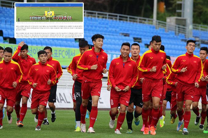 Báo Hàn trầm trồ khi nói về U20 Việt Nam