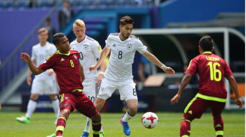 U20 Đức thua sốc Venezuela ngay trận khai mạc giải U20 World Cup 2017