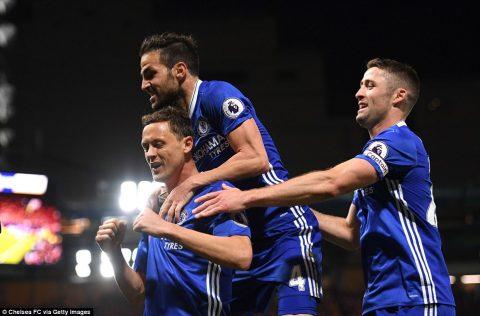 Hủy diệt Middlesbrough, Chelsea tiến sát ngôi vương Ngoại hạng Anh