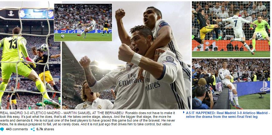 """Truyền thông thế giới """"cạn lời"""", tôn Ronaldo lên hàng Thánh"""
