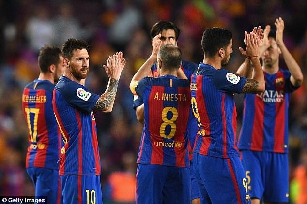 Ngược dòng nghẹt thở trước Eibar, Messi và các đồng đội vẫn cay đắng nhìn Real lên đỉnh La Liga