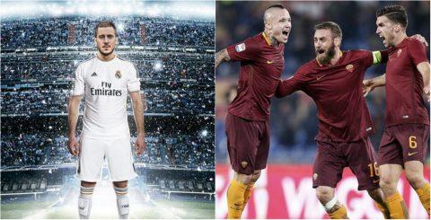 TIN CHUYỂN NHƯỢNG 19/05: Chelsea ra điều kiện nhả Hazard cho Real; M.U nghiêm túc theo đuổi sao Roma