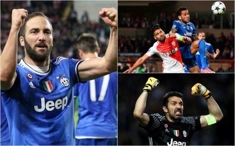 Juventus lập một loạt kỷ lục sau chiến thắng trước Monaco