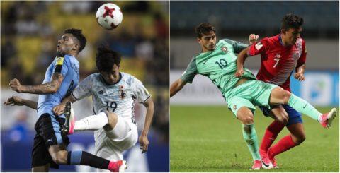 U20 Uruguay giành vé đi tiếp; Đàn em Ronaldo tiếp tục gây thất vọng