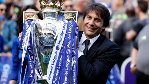 Conte giật giải HLV xuất sắc nhất Premier League 2016/17