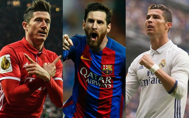 """Messi cho Ronaldo """"ngửi khói"""" trong cuộc đua danh hiệu Chiếc giày vàng châu Âu"""