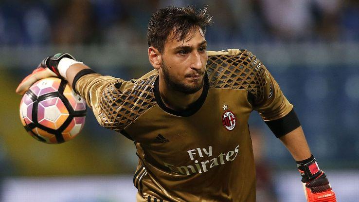 AC Milan lo sốt vó vì Gianluigi Donnarumma