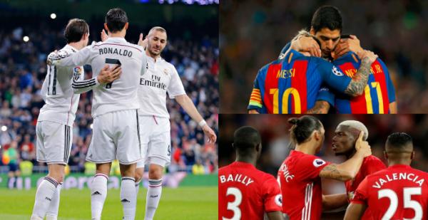 Top 10 CLB trả lương cầu thủ cao nhất hiện nay: Real cũng chưa phải số 1