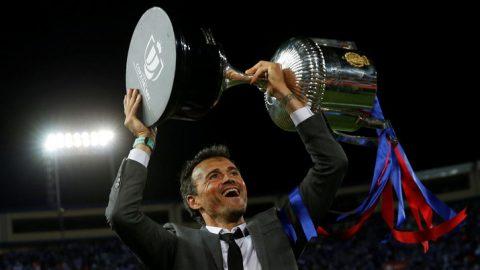Luis Enrique tính chuyển nghề khi rời Barca
