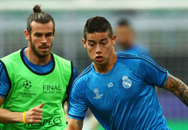 """REAL MADRID: Bale và James trở lại cho trận """"Chung Kết"""" La Liga"""