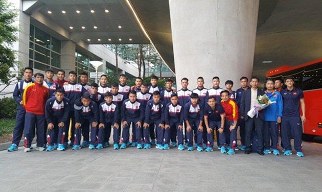 U20 Việt Nam được đón tiếp chu đáo khi đến Hàn Quốc