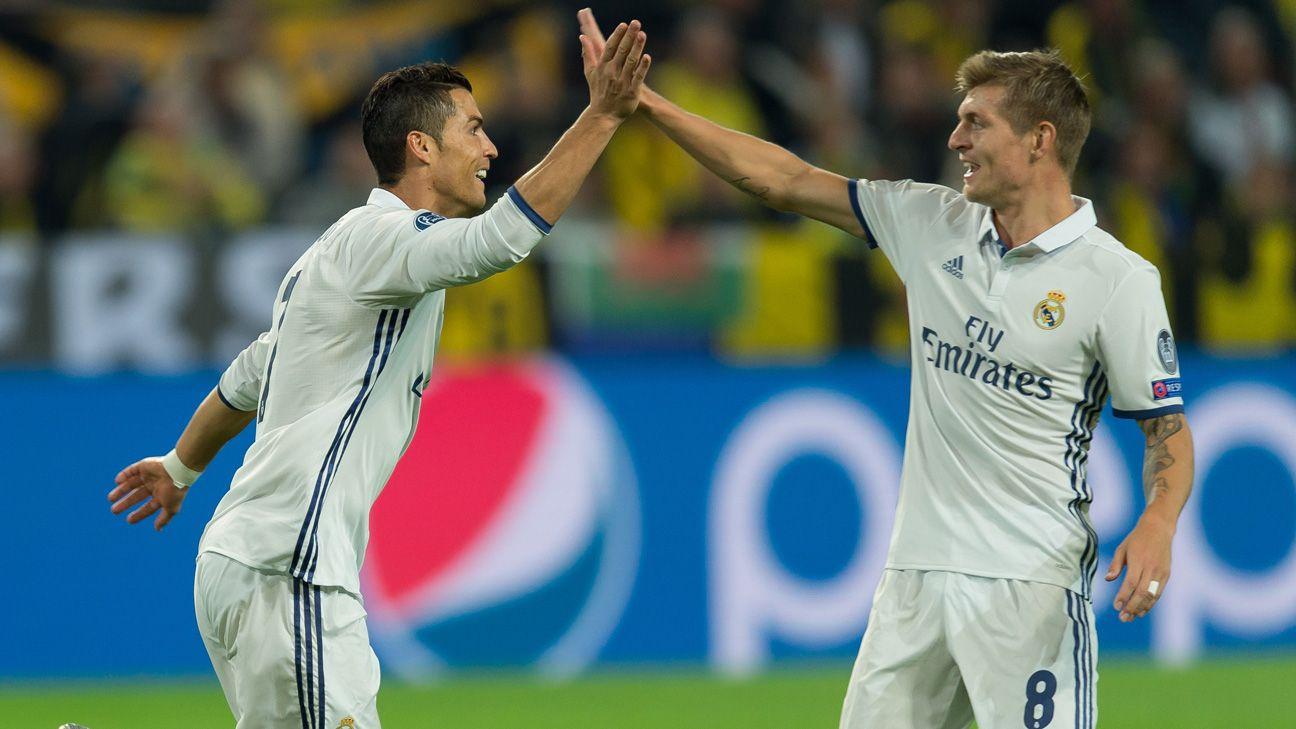 Trước thềm mùa giải mới, Toni Kroos đánh giá 2 cầu thủ Real này cao hơn cả Ronaldo khiến ai cũng bất ngờ