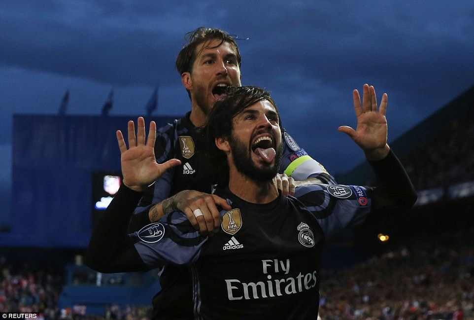 Isco chặn đứng Atletico, Real hẹn Juve ở chung kết Champions League