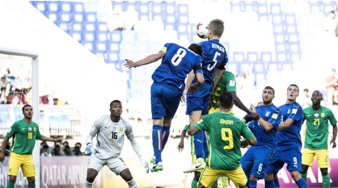 VIDEO: U20 Nam Phi 0-2 U20 Italia (Bảng D U20 World Cup)