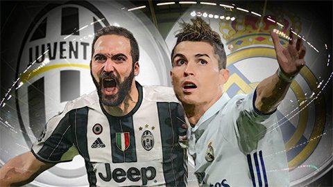 Lịch sử đối đầu Juventus và Real Madrid: Ngang tài ngang sức