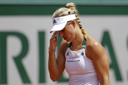Roland Garros: Hạt giống số 1 Angelique Kerber thua sốc
