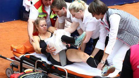 Hạt giống đầu tiên lỡ Roland Garros vì chấn thương