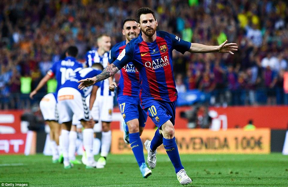 Barcelona 3 – 1 Deportivo Alaves (Chung kết Cúp nhà Vua TBN 2016/17)