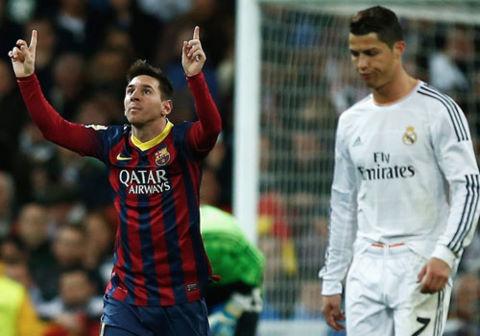 """Cầu thủ hay nhất Liga: Messi về nhì, Ronaldo """"mất hút"""""""
