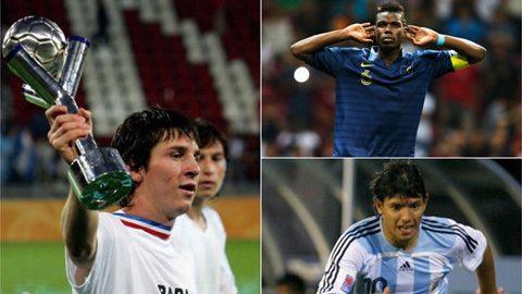10 cầu thủ xuất sắc nhất ở 10 VCK U20 World Cup gần nhất