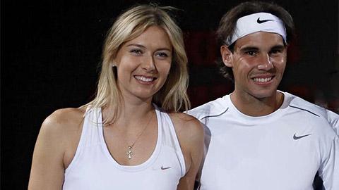 Nadal tiến sát top 3 ATP, Sharapova thăng hạng 173 thế giới