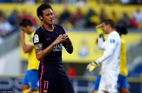 Neymar lập hattrick, Barca dễ dàng đè bẹp Las Palmas trên sân khách