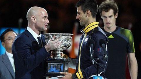 Djokovic chọn Agassi làm HLV