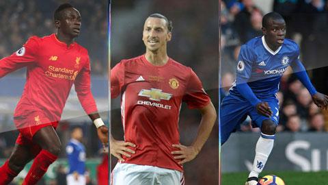 10 bản hợp đồng ấn tượng nhất giải Ngoại hạng Anh 2016/17