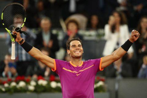 Vô địch Madrid Open, Nadal san bằng siêu kỉ lục của Djokovic