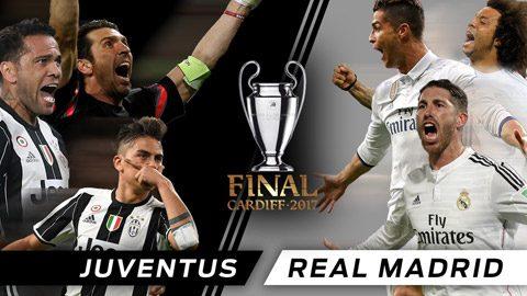 Những con số biết nói về trận chung kết Champions League