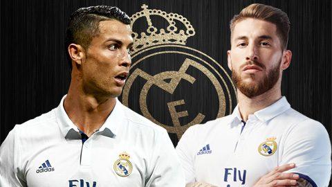 Ronaldo và Ramos đứng trước cơ hội thiết lập kỷ lục vĩ đại