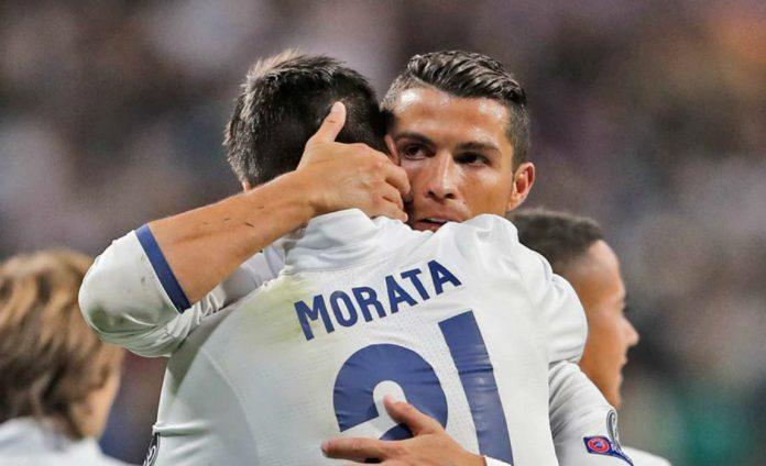 Morata chính thức thông báo đội bóng sẽ đầu quân sau khi chia tay Real hè 2017