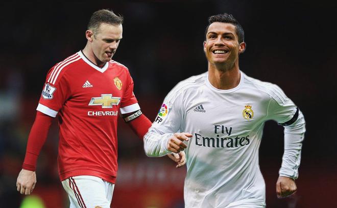 """Nếu Ronaldo là siêu nhân, thì Rooney gọi là """"phế nhân"""" hay là gì?"""
