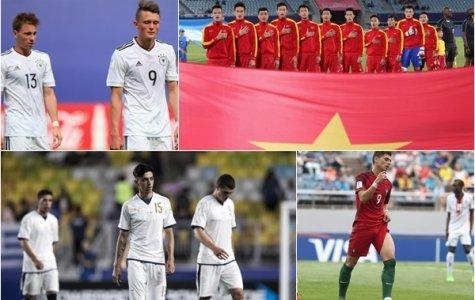 Sau lượt đấu đầu tiên vòng bảng World Cup U20: Châu Âu mất mặt, Việt Nam làm nên lịch sử
