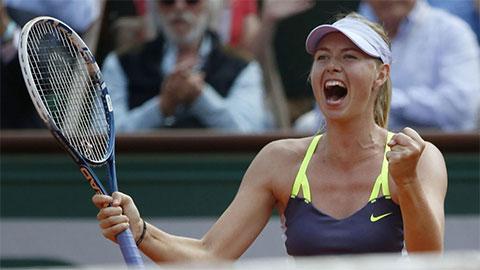 """Tin thể thao HOT 11/5: Sharapova cao tay """"phản công"""" Bouchard"""